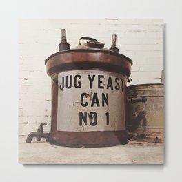 Yeast Can Number 1 Metal Print