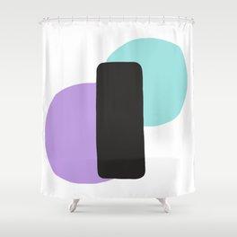 Pastel Equilibrium Shower Curtain