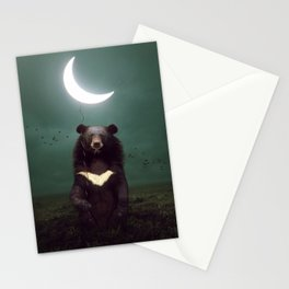 my light in the darkness Stationery Cards