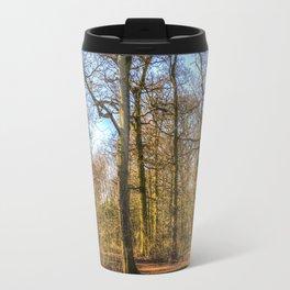 Spring Forest Path Travel Mug