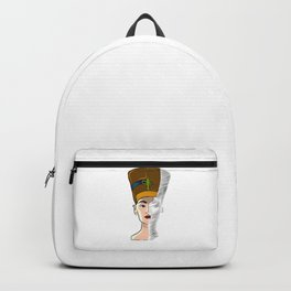 Trippy Egyptian Godess Backpack