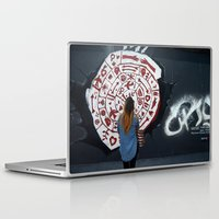 berlin Laptop & iPad Skins featuring Berlin by L'Ale shop