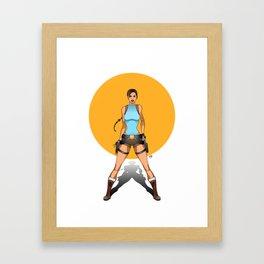 Lara Croft Tomb Raider - Ladies of Video Games Framed Art Print