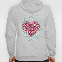 A heart is made of bits and pieces Hoody
