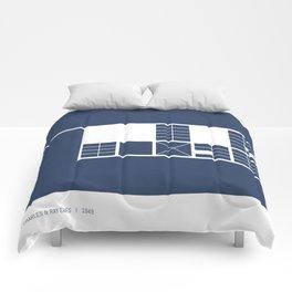 Eames House Comforters