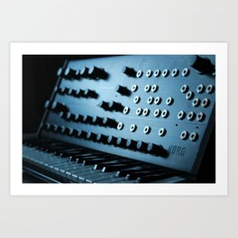 Korg Legacy Collection Ms-20  Art Print