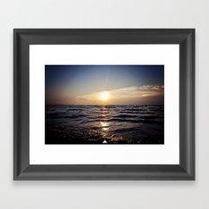 Sunset Glory Framed Art Print
