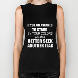 Seek Another Flag Biker Tank