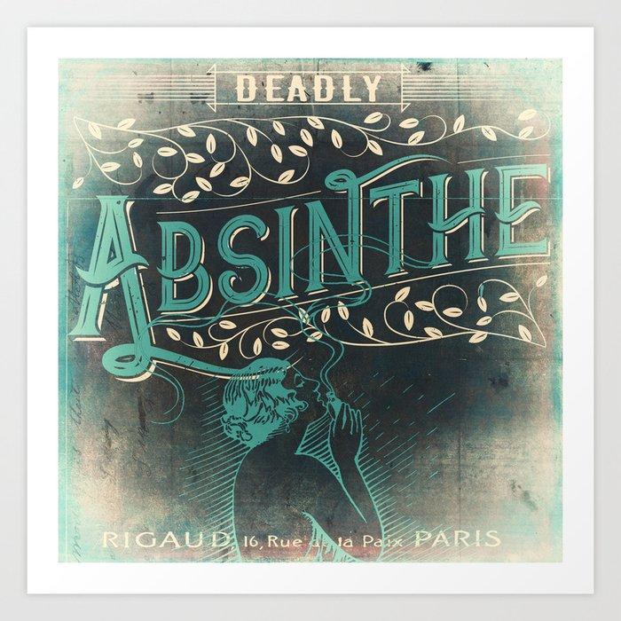 Deadly Absinthe Kunstdrucke