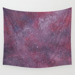 Final Frontier Pink Wall Tapestry