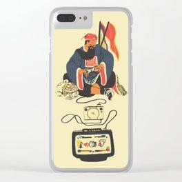 Quan Clear iPhone Case