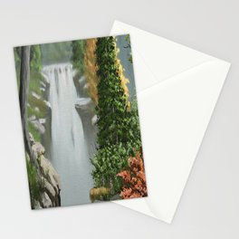 Waterfall 8 Stationery Cards