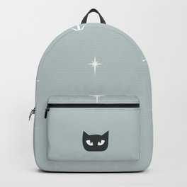 Mid Century Cats and Starburst Pattern Backpack