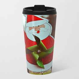 Santa greetings Metal Travel Mug