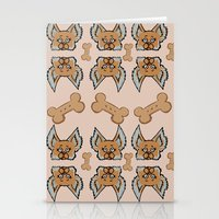 yorkie Stationery Cards featuring New Yorkie by Brianna Heyer