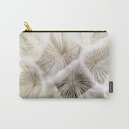 Into the deep- Dandelion Seed Head- Close up Carry-All Pouch
