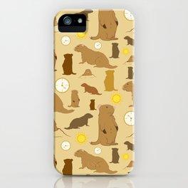 Groundhogs iPhone Case