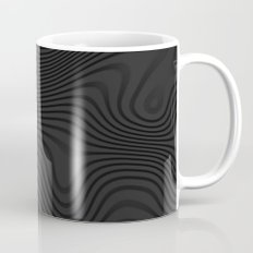 Organic Abstract 02 BLACK Mug