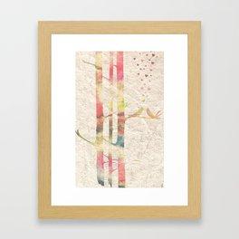 Love Birds Framed Art Print