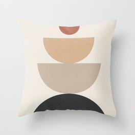 Geometric Modern Art 31 Throw Pillow