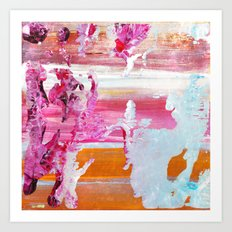 color splash #5 Art Print