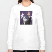 american psycho Long Sleeve T-shirts featuring American Psycho by Marko Köppe