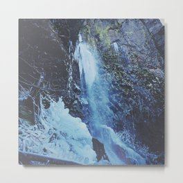 Cabin Creek Falls Metal Print