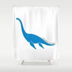 Nessie, I believe! Shower Curtain