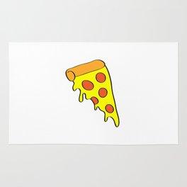 i want pizza Rug