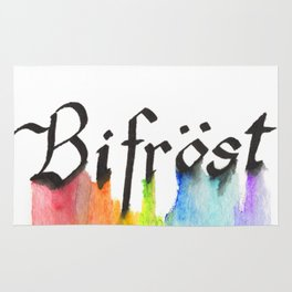 Bifrost the road to Valhalla Rug