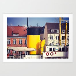 Bremerhaven Harbor, Germany Art Print