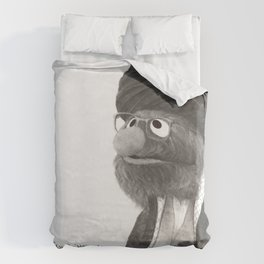 And on the earth are signs for the certain, and in yourselves. Then will you not see? Duvet Cover