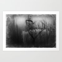 love and the rain Art Print