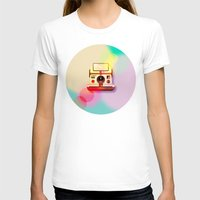 polaroid T-shirts featuring Polaroid by Tony Vazquez