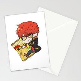 Seven Chibi Stationery Cards