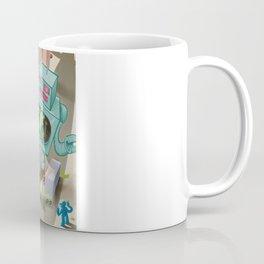 Squid vs Robot Coffee Mug