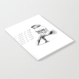 I Am What I Eat - Chocolate Illustration Notebook