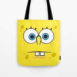 Spongebob Surprised Face Tote Bag