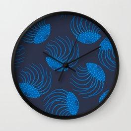 JELLYFISH in BLUE Wall Clock