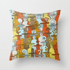Illusionist Congress Throw Pillow
