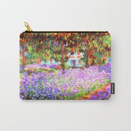 Monets Garden in Giverny Carry-All Pouch