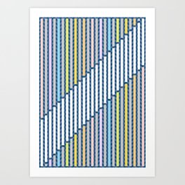 Stairs To The Top 2 Art Print