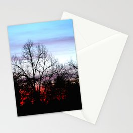 Sky and fire part2 Stationery Cards