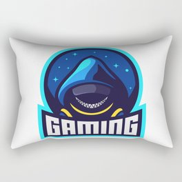 Anonym Man With Smile Mask Gaming Rectangular Pillow
