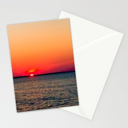 An LBI Sunset Stationery Cards