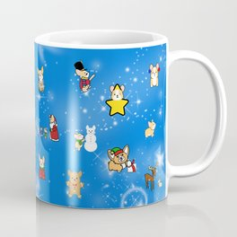 Corgi Christmas Mug