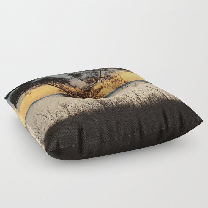 Lake Maury, Newport News, VA Floor Pillow By