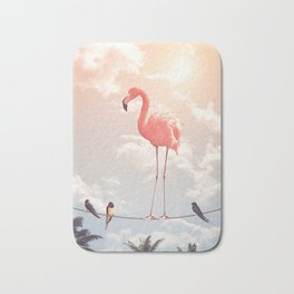 FLAMINGO & FRIENDS Bath Mat