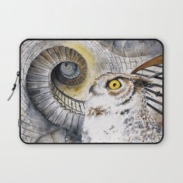 Ocular Labyrinth Laptop Sleeve