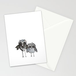 Two Feathered Friends Stationery Cards